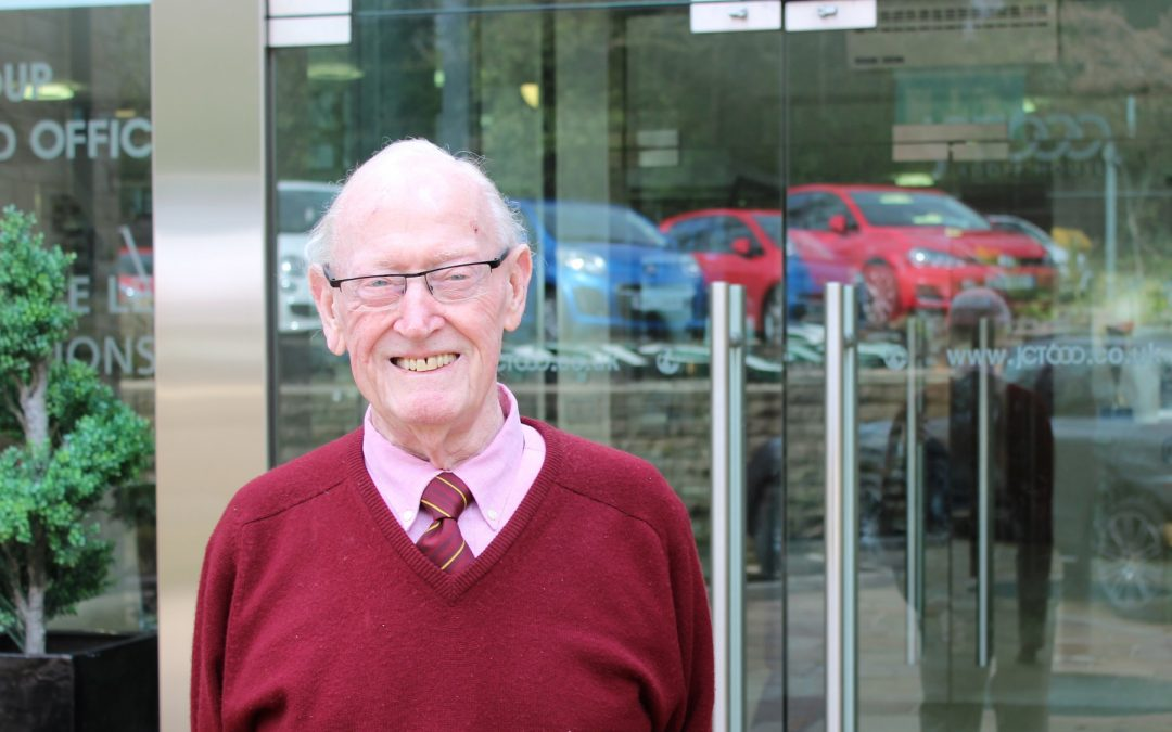 Jack Tordoff of JCT600 honoured with an OBE for his services to West Yorkshire
