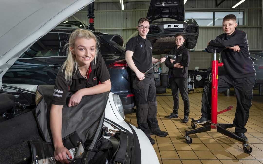 JCT600 recruits another 40 apprentices during 2018