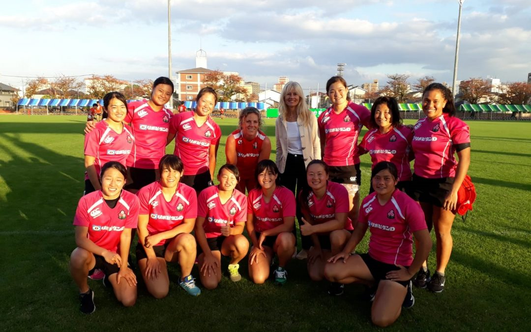 Manchester Met helps Japan's Olympic rugby sevens teams go for gold