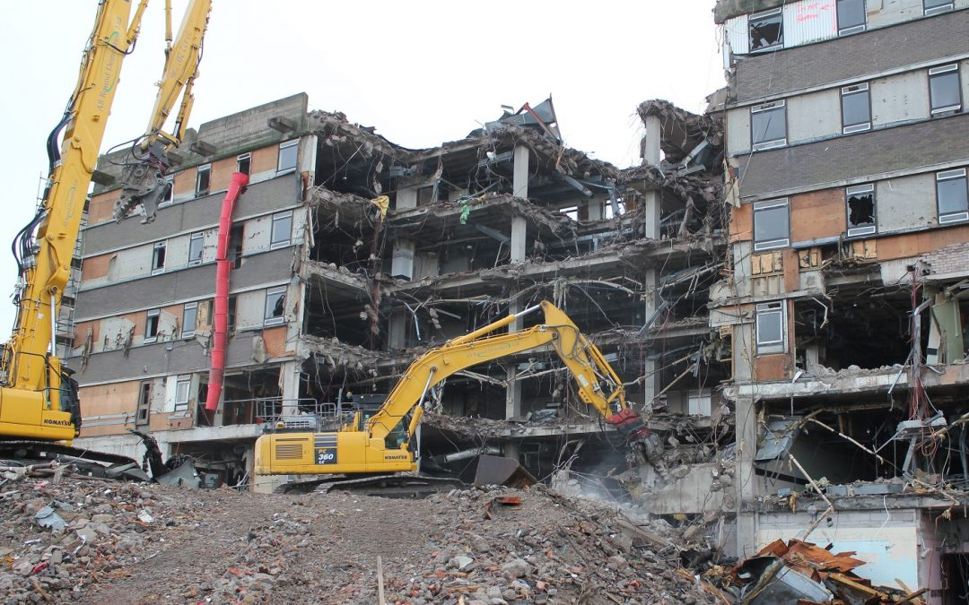 Specialist Eddisons team begins demolition work for new £35m cancer centre