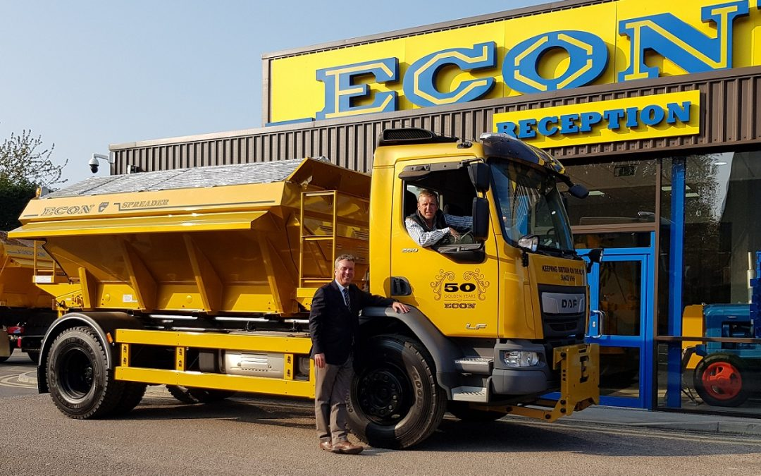 Ripon's leading manufacturer to unveil 'Golden Gritter' at 50th year open day