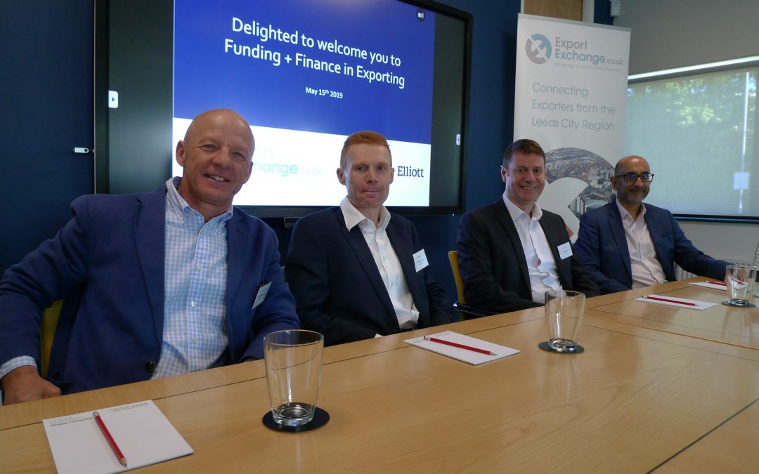 Yorkshire firms updated on the latest grant funding available to drive export
