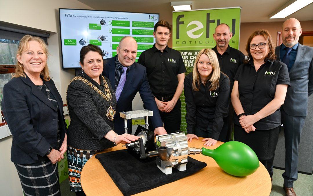 Mayoral visit for growing Calderdale green energy pioneers