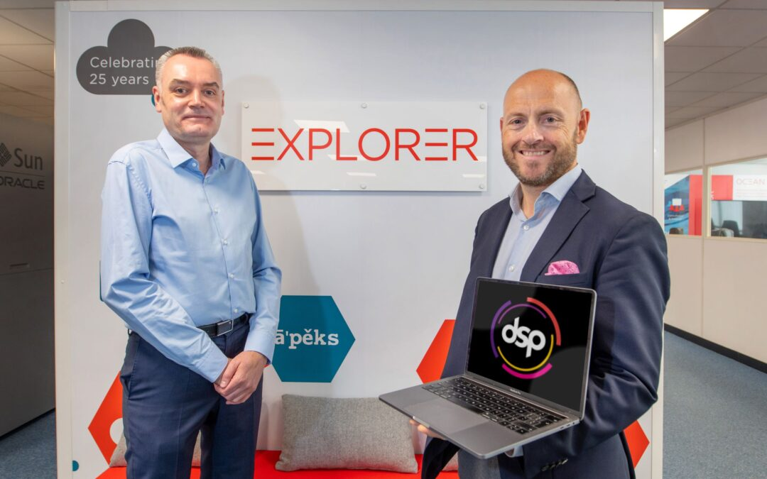 DSP acquires Leeds-based Explorer UK to create market leading managed services and database technology services group
