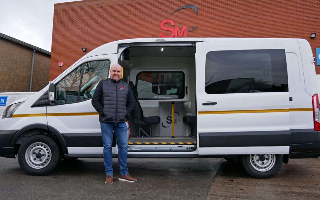 Leeds engineer invests £200,000 to produce Yorkshire's first Covid-safe welfare vehicles