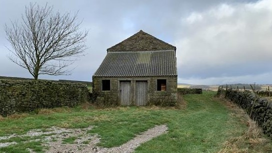Two historic stone barns near Harrogate go up for auction