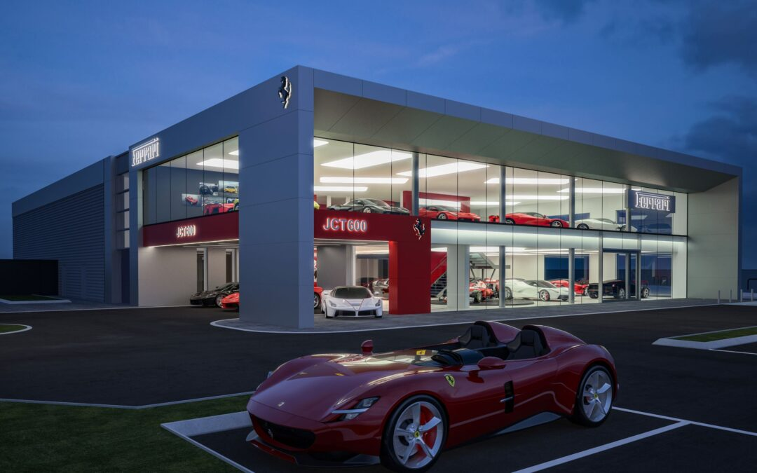 JCT600 starts work on £9m new Ferrari showroom and service centre in Leeds