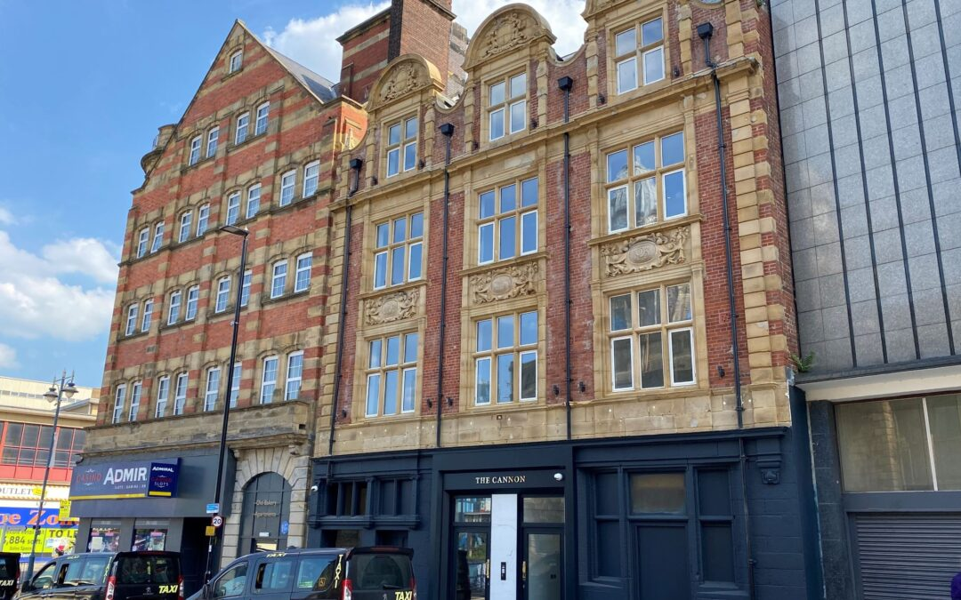 Two landmark Sheffield buildings go up for sale as Pantera appointed by LPA receivers Wilson Field