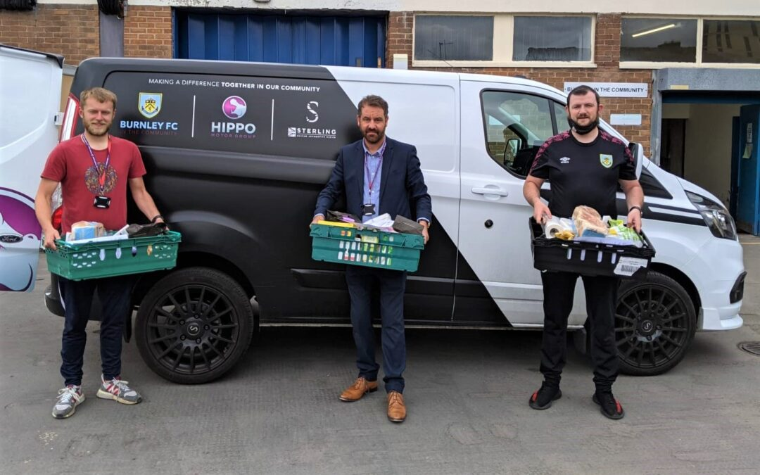 Burnley FC foodbank hits record, providing over 10,000 meals since January
